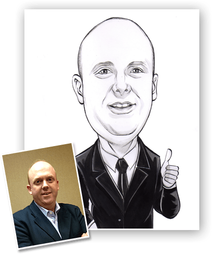 online caricature for corporate gifting