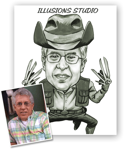 Caricature artist toronto for illusions studio