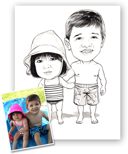 children's / kids caricature