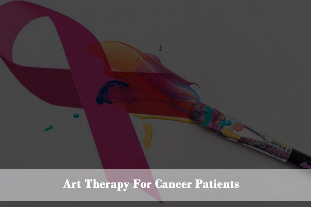 Drawing, painting and art helps to cop with cancer.