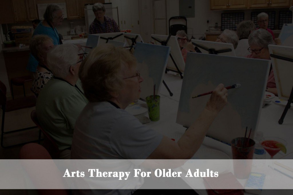 Drawing, painting and art  maintaining the health and quality of life for older adults.