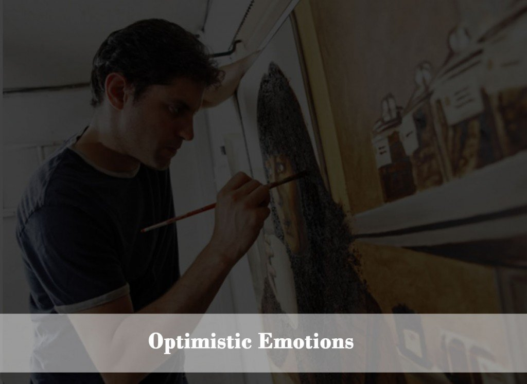 Drawing, painting and art optimizing strong emotions.
