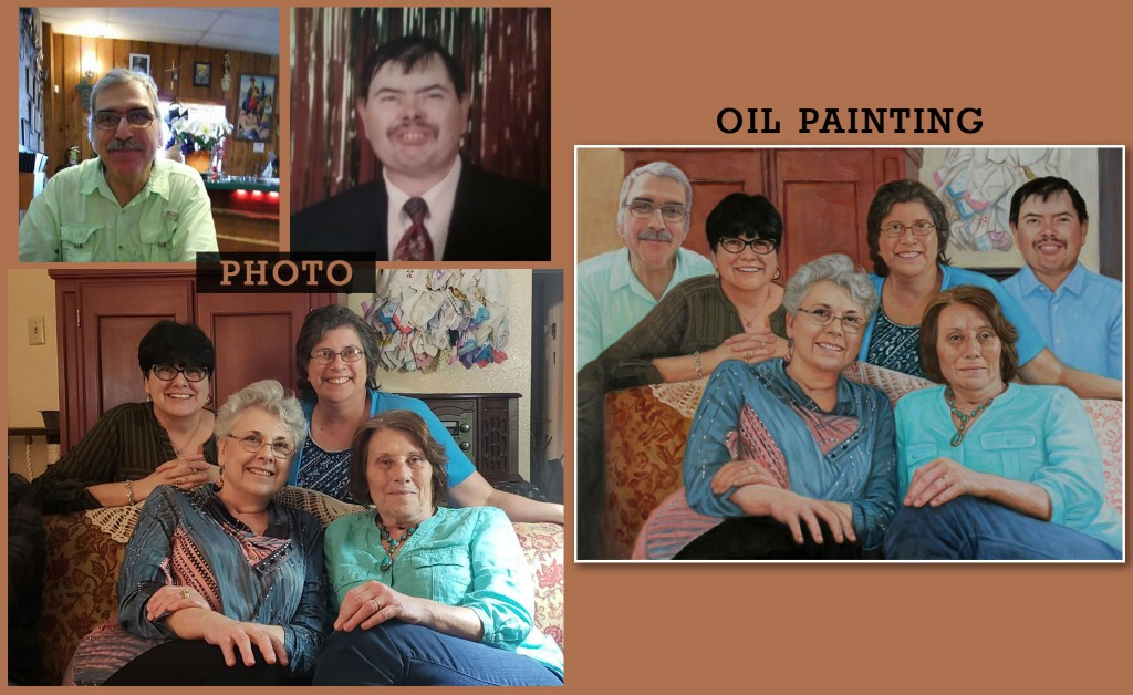 Mary Lefton Family Portrait