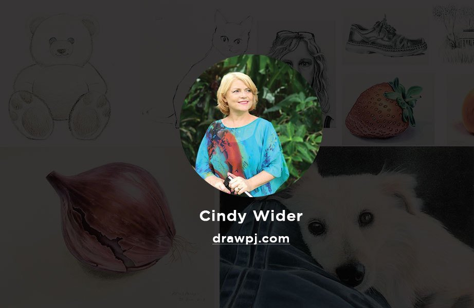 Drawpj.com is an online drawing and painting tutorial portal run by a very talented artist Cindy Wider
