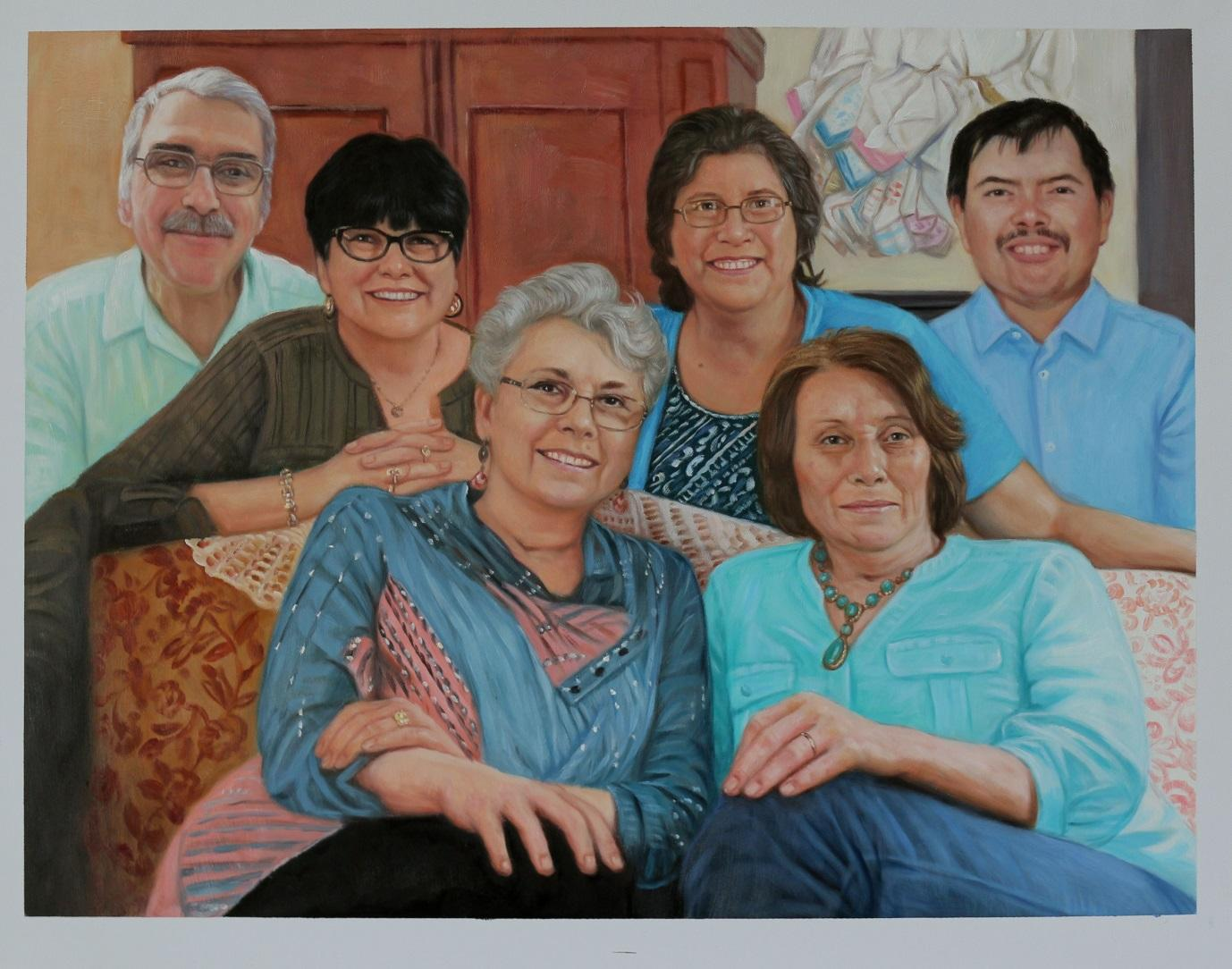 THE FINAL FAMILY PAINTING